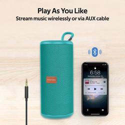 Promate Pylon Portable Bluetooth Stereo Sound Speaker, Turquoise