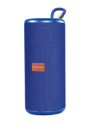 Promate Pylon Portable Bluetooth Stereo Sound Speaker, Blue