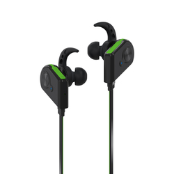 Promate Fluid Bluetooth Earphones, Wireless Bluetooth 4.1 Magnetic with HD Sound Quality, Sweatproof, Secure-Fit, Built-In Mic and Noise Isolation, Green