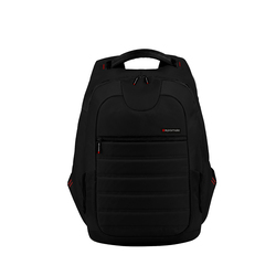 Promate Zest Multifunction Backpack with Multiple Storage for Laptops upto 15.4 Inch, Black