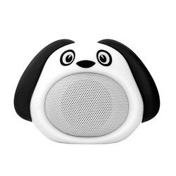 Promate Snoopy Wireless Speaker, Portable Kids Bluetooth v4.1 Speaker with HD Sound Quality, Hands-Free Call Function and Cute Dog Design, White