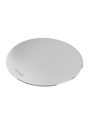 Promate MetaPad-1 Mouse Pad for Any Optical Laser Mouse/Gamer/Desktop/Laptop, Premium Ultra-Thin Non-Slip Rubber Base and Metallic Surface with Fast and Accurate Control, Silver