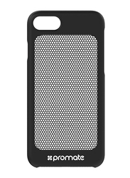Promate Steel-i7 iPhone 7 Cover Case, Ultra-Light Protective Snap-On Case with CoolGrid Mesh, Black