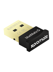 Promate BlueMate-5 Universal Bluetooth 4.0 USB Wireless Mini Adapter, Black