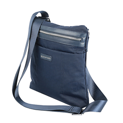 Promate Roxy-TB Tablet Sling Bag, Ultra-Protective Shoulder Bag with Multiple Secure Pockets and Shock Absorbent for 10 Inch Tablet and Laptops, Blue