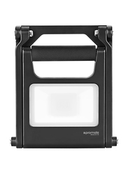 Promate Beacon-2 LED Flood Light, Super-Bright 1440 Lumens, Rechargeable 8800mAh Battery, IP54 Water and Dust Resistance, Steady Foldable Stand for Emergency/Hiking/Camping, Black