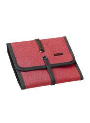 Promate Travelpack Multi-Purpose Accessories Organizer for Women, Small, Red