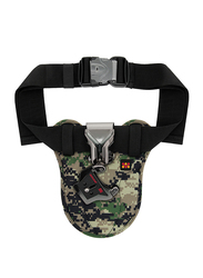 Promate Bolster Universal Camera Waist Belt Clip Holster for DSLR/Canon/Nikon/Sony with Quick Release Launch, Camouflage