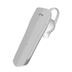 Promate Nomad Mono Wireless Headset, Professional HiFi Stereo Hands-Free with Multi-Point Pairing, Built-In Mic and HD Call Clarity, White