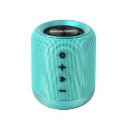 Promate Hummer Wireless Speaker, Portable 10W Bluetooth v4.2 with HD Sound Quality, Built-In Mic, FM Radio, Micro SD Card Slot and Auxiliary Port, Turquoise