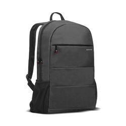 Promate Alpha-BP Travel Laptop Backpack, Lightweight Water-Resistant with Anti-Theft Secure Pockets and Adjustable Padded Strap for Men, Women, 15.6 Inch Laptop and Notebook, Black