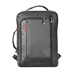 Promate Quest-BP Business Laptop Backpack, Lightweight Anti-Theft with Secure Storage, Organizer and Multiple Quick Access Pockets, Black