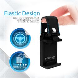 Promate Ezgrip Universal Car Steering Wheel Mobile Phone Holder Clip, Black