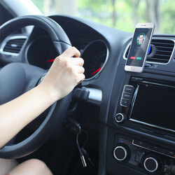 Promate VentGrip Anti-Slip Magnetic Car AC Vent Universal Mobile Holder, Blue