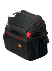 Promate Handypack1 Small Water Resistance Shoulder Case Bag for DSLR/SLR/Sony/Canon/Nikon, Black