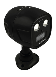 Promate MotionTorch Motion Sensor Light, Wireless Battery Powered LED Ultra-Bright Spotlight, IP65 Water-Resistant, 100 Lumens and Wall Mount Kit for Back Yard/Garden/Driveway, Black