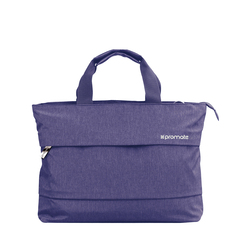 Promate Desire-LD Classic Design Handbag with Water Resistance for 13 Inch Laptop, Blue