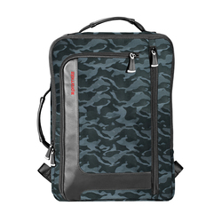 Promate Quest-BP Business Laptop Backpack, Lightweight Anti-Theft with Secure Storage, Organizer and Multiple Quick Access Pockets, Camouflage