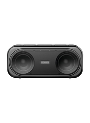 Promate Otic 10W Wireless Bluetooth V5.0 Stereo Speaker, with Built-In Mic, 2000mAh Rechargeable Battery, USB Port, AUX and MicroSD Card Slot, Black
