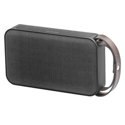 Promate Groove Bluetooth Speaker with AUX, MicroSD Slot and Built-in Power Bank, Black