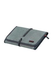 Promate Travelpack Multi-Purpose Accessories Organizer for Women, Large, Grey