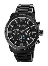 Blade Ceracro Analog Watch for Men with Stainless Steel Band, Water Resistant and Chronograph, 3572G3ANN, Gun Metal