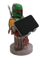 Exquisite Gaming Cable Guys Boba Fett Phone & Controller Holder, Multicolor