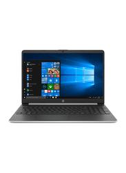 "HP Notebook 15-dy1045nr Laptop, 15.6"" HD Display, Intel Core i5 10th Gen 1.0GHz, 256GB SSD, 8GB RAM, Intel UHD Graphics, EN KB, Win10, HPP-7PD89UA#ABA, Silver"