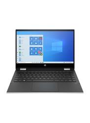 "HP Pavilion X360 14M-DW0013 2-in-1 Laptop, 14"" FHD Touch Display, Intel Core i3 10th Gen 1.2GHz, 128GB SSD, 8GB RAM, Intel UHD Graphics, EN KB, Win 10, 9GE49UA#ABA, Luminous Gold"