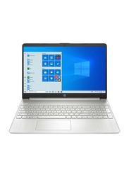 "HP Notebook 15-dy1032wm Laptop, 15.6"" HD Touch Display, Intel Core i3 10th Gen 1.2GHz, 256GB SSD NVME, 8GB DDR4 2666 RAM, Intel UHD Graphics, EN KB, Win10 Home, 9EM46UA#ABA, Silver"