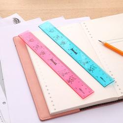 Deli EG01302 Explora Ruler, 200mm, Blue/Pink
