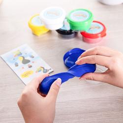 Deli ED85010 Soft Clay, 6 Pieces, Multicolor