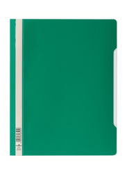 Durable 2570-05 PVC Clear View File Folder, A4 Size, Green