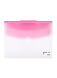 Deli E5571 Document Case Buckled with Handle, A4 Size, Multicolor