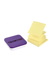 3M OL-330-PD Pop Up Dispenser with Sticky Note, 76 x 76mm, Multicolor
