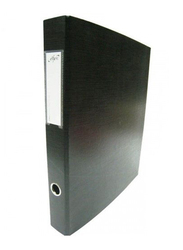 Elfen 1202 Polypropylene Scape Box File, A4 Size, Black