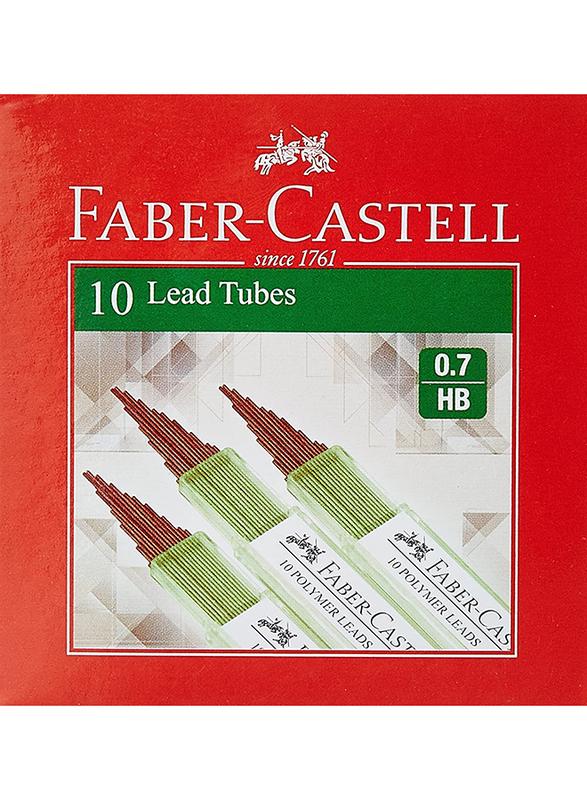Faber-Castell 126725 Mechanical Pencil Lead, 0.7 HB, Black