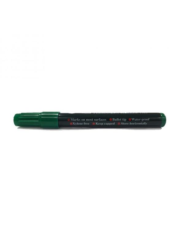 Faber-Castell 1585 Bullet Tip Permanent Marker, Green