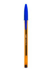 BIC Cristal Original Fine Point 0.8mm Ball Pen Set, Blue
