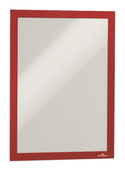 Durable 4872-03 Magnetic Dura Frame, A4 Size, Red