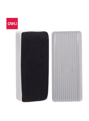 Deli E7810 White Board Eraser, Black/White
