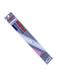 Omega 1921/45 Deluxe Ruler, 45mm, Clear
