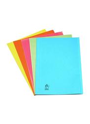 Premier 300GSM Full Size Square Cut Folder, Yellow