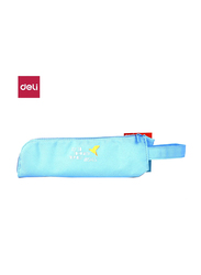 Deli EZ86502 Pencil Pouch, 215 x 40 x 55mm, Blue