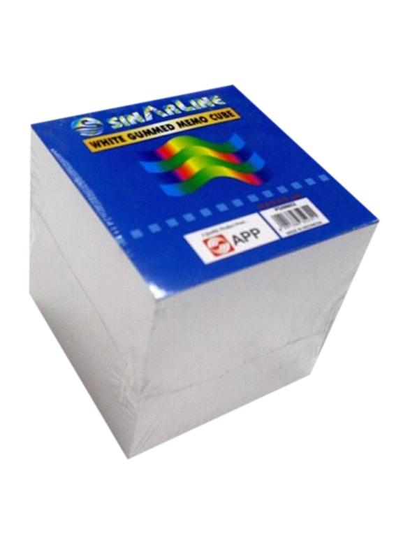 Sinarline 2344 Papercube, 90 x 90mm, 970 Pieces, White