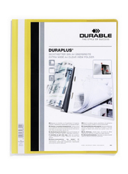 Durable 2579-04 Duraplus Presentation Folder, A4 Size, Yellow
