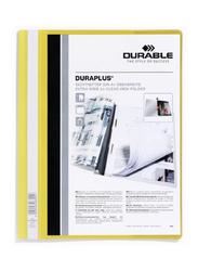 Durable 2579-04 Duraplus Presentation Folder, A4 Size, Yellow