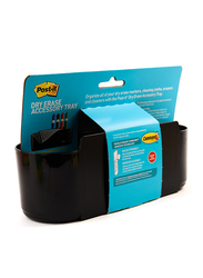 3M Post-It Dry Deftray Erase Tray, Black