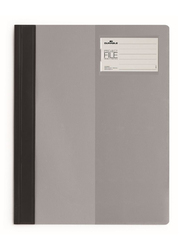 Durable 2745-10 Clear View Project File, A4 Size, Grey