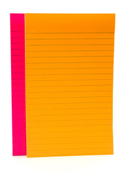 3M Post-It 5845-SS Rio De Janeiro Collection Lined Super Sticky Notes, 127 X 203mm, 2 x 45 Sheets, Yellow